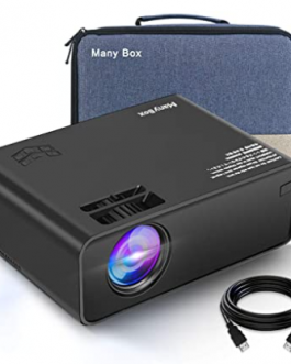 Mini Proyector MANY BOX 4500 Lux – Full HD 1080P